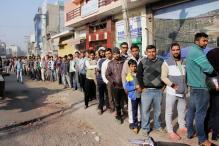 Long Queues Outside Banks, ATMs on Monday Morning