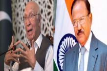 It was Just a Chat: India Trashes Pak Claims of Ajit Doval-Sartaj Aziz Meet