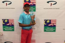 Arjun Bhati Wins Kids Golf World Championship