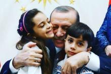 Syria's Twitter Girl Bana al-Abed Meets Turkish PM Erdogan