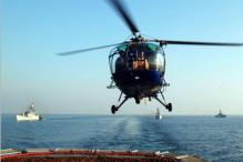 Indian Navy Chopper Makes Emergency Landing in Goa