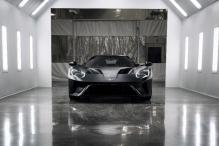 Very First Ford GT Rolls Out