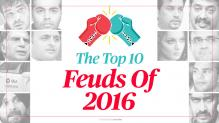 The Top 10 Feuds of 2016