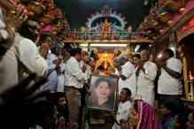 Silent Procession by AIADMK Women to Pay Homage to Jayalalithaa