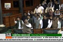 Lok Sabha Adjourned for the day Amid Disruptions
