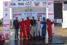 Karna Kadur Wins Coffee Day India Rally, Leads in MRF FMSCI Indian National Championship