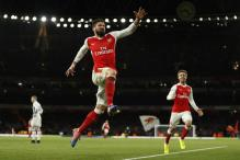 Olivier Giroud's Scorpion Special Helps Arsenal Ease Past Palace