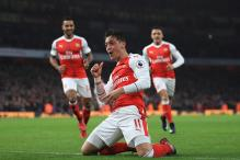EPL: Mesut Ozil Proves Worth as Arsenal go Top