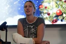 French Open: Saving My Fingers Biggest Battle, says Kvitova