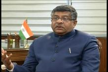 Ravi Shankar Prasad Urges People to Switch to Digital Methods of Payment