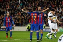 Champions League: Barcelona Crush Moenchengladbach 4-0
