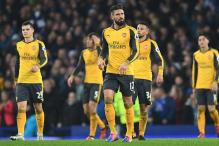 EPL: Rattled Arsenal Face Manchester City Mettle Test