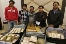 Rs 3.25 Crore Cash in Old Notes Seized During Raids at a Hotel in Delhi