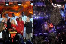Thousands Attend 84th Annual Rockefeller Center Christmas Tree Lighting