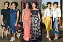 Dangal Sisters Fatima Sana Sheikh and Sanya Malhotra Have Some Important Style Lessons For us All