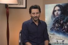 Diego Luna Talks About His Role in Rogue One: A Star Wars Story