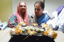 This Photo of Dilip Kumar Cutting Birthday Cake With Saira Banu Can't Be Missed