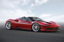 Ferrari Unveils The New 'J50' Special Edition