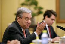UN Secretary General Designate Antonio Guterres to be Sworn-in on Monday