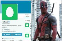 Hotstar's Twitter Account Was Hacked By 'Deadpool' Not Legion