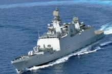 INS Sahyadri Affiliated to Indian Army's Poona Horse