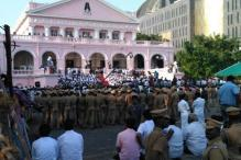 Jayalalitha's Body Kept at Rajaji Hall in Chennai For Public Homage