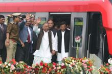 Lucknow Metro Flagged Off; Mayawati Says it's Cheap Popularity