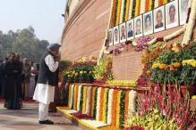 2001 Indian Parliament Attack: Members of Parliament Pay Tribute to Martyrs