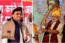 PM Narendra Modi in Varanasi; Akhilesh Yadav on Inauguration Spree