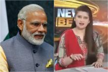 This Video Of A Pakistani News Anchor Warning PM Modi Will Crack You Up