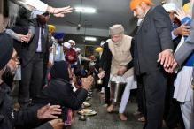 'PM Did not Violate Sikh Maryada During Golden Temple Visit'