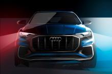 Audi Q8 Concept To Premiere at Detroit Auto Show