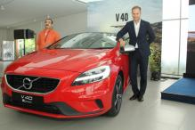 Volvo V40 2017, V40 Cross Country Launched in India With Thor's Hammer Headlamps