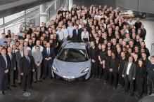 McLaren Marks 10,000th Production Milestone