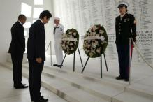 On Pearl Harbor Visit, Abe Says Japan Will Never Wage War Again