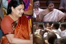 AIADMK Workers Attack Rebel Leader Sasikala Pushpa's Lawyers