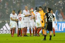 Champions League: Sevilla Withstand Lyon Assault to Reach Last 16
