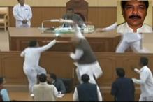 Tripura Assembly Ruckus: TMC MLA Flees With Speaker's Mace