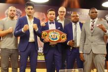 Vijender Singh Targets Win but Francis Cheka Wants Blood