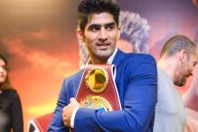 Composed Vijender Singh Eyes Another Knockout in Title Defence
