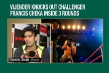 Vijender Singh Knocks Out Francis Cheka to Retain WBO Title