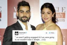 Virat Kohli Denies Speculations of Engagement with Anushka Sharma