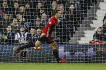EPL: Ibrahimovic Brace Helps Manchester United Beat West Brom