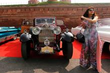 Vintage Car Rally Flagged Off At India Gate