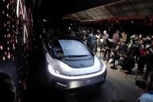 Faraday Future FF 91 Electric Car Unveiled at CES 2017