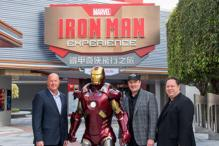 Enjoy 'Iron Man Experience' at Disneyland Theme Park in Hong Kong