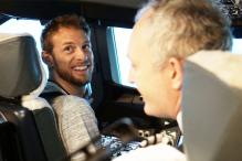 Formula 1 Ace Jenson Button Tries Hands on The Airbus A380 Simulator
