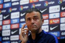 Barcelona Rested and Readied for Vital January - Luis Enrique