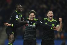 Marcos Alonso Scores Brace As Chelsea Beat Leicester