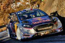 WRC 2017: Sebastien Ogier Fastest in Monte Carlo Shakedown